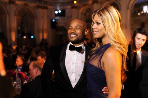 Laverne Cox Talks Dating with Miss Ross