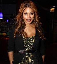 Laverne Cox, breakout star from Orange is the New Black at the Trans100 in Chicago