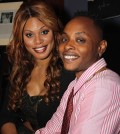 Laverne Cox and Kortney Ryan Ziegler at the Trans100