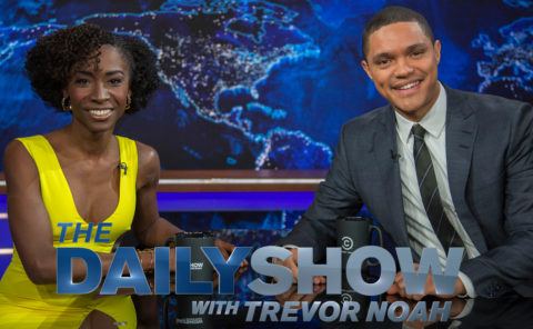Miss Ross on The Daily Show with Trevor Noah