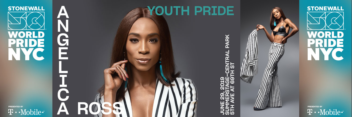 Angelica Ross at NYC Youth Pride