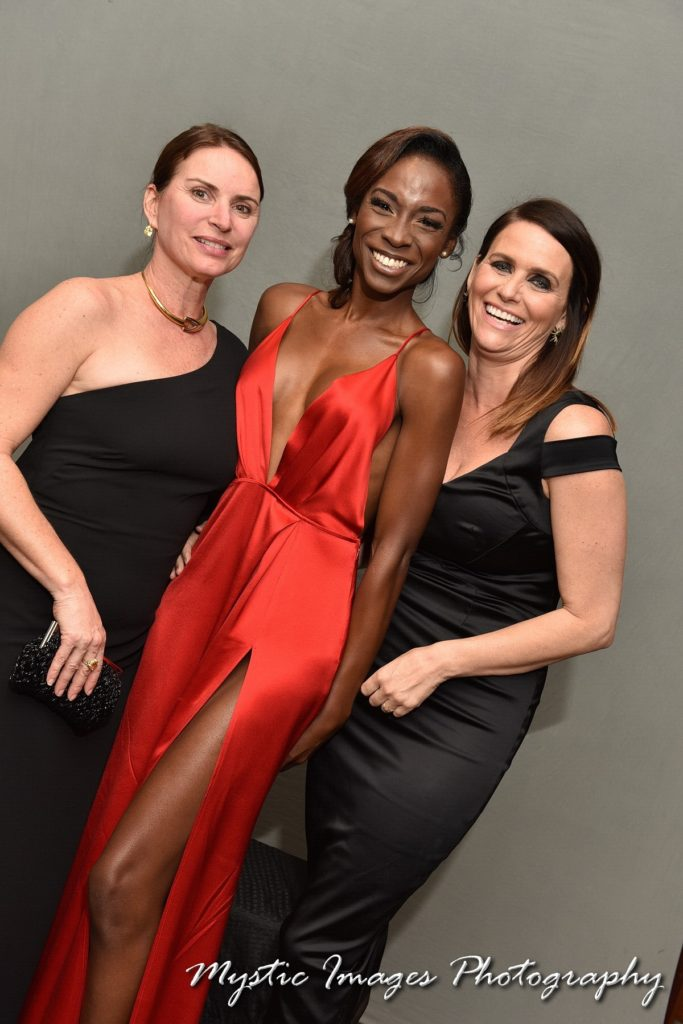 Angelica Ross and Amy Landecker at HRC Chicago Gala